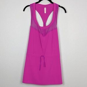 🌼 Lucy Keep Cool Dress in Neon Berry NWT Size M